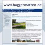 Vermietung von Baggermatten, Baggermatratzen