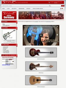 Spear Guitar Deutschland Shop