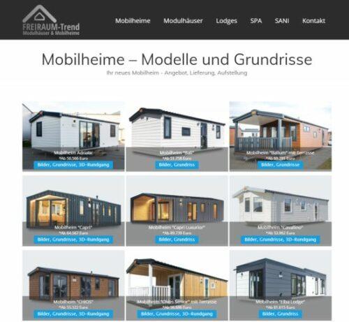 Mobilheime von Lark aus Polen