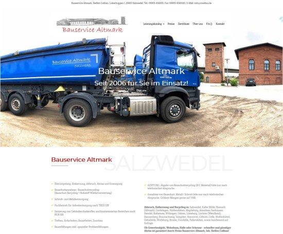Bauservice Altmark, Steffen Cossbau