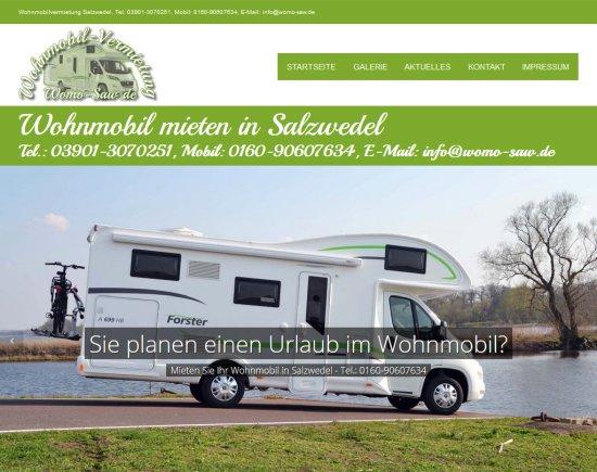 Wohnmobil in Salzwedel mieten