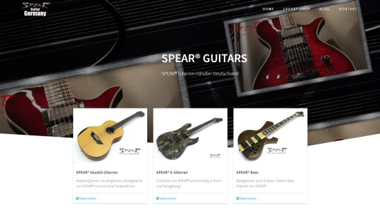 SPEAR Gitarren Deutschland